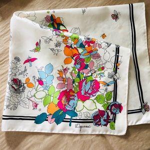Dsquared2 silk scarf.